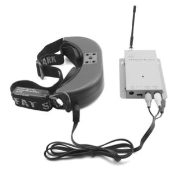Using an external receiver